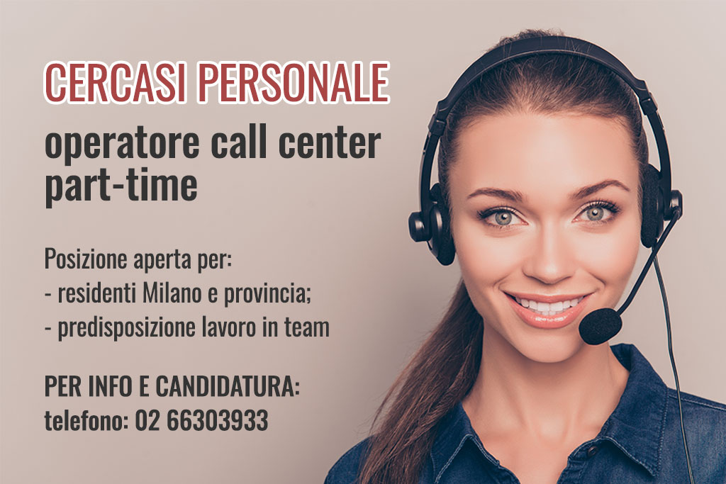 Cercasi operatore call center